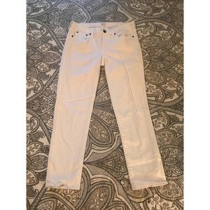 J.Crew White Stretch Jeans Size 29